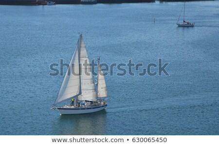 ボート · 川 · 日没 · 空 · 自然 · 光 - ストックフォト © carpeira10