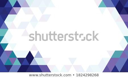 Abstract Tiangular Background stock photo © VolsKinvols