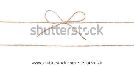 Twine cord Stock photo © Melpomene
