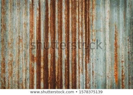 corrugated iron texture Stock photo © burakowski