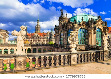 Dresden is one of the most beautiful cities in Germany Stock photo © meinzahn