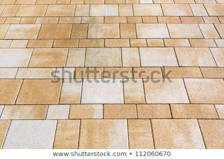 harmonic floor tiles background in geometric structure stock photo © meinzahn