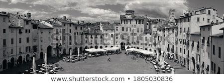 piazza anfiteatro lucca Stock photo © tiero