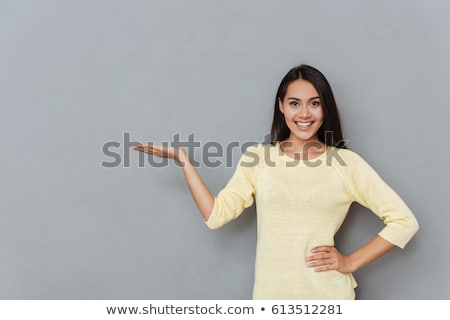 женщину ничего открытых стороны Palm Сток-фото © fuzzbones0