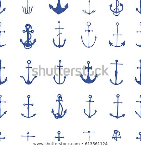 ヴィンテージ · ベクトル · 海洋 · 地図 · セーリング · 古代 - ストックフォト © netkov1