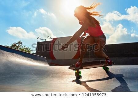 подростку Перейти городского город человека Сток-фото © bezikus