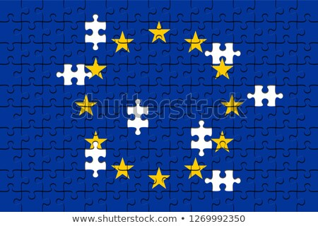 News - Jigsaw Puzzle with Missing Pieces. Stock photo © tashatuvango