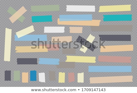 Adhesive tape on white Stock photo © cherezoff