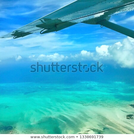 Flying over The Bahamas. Stock photo © FER737NG
