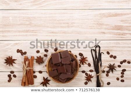 звездой анис шоколадом ваниль баров Сток-фото © StephanieFrey