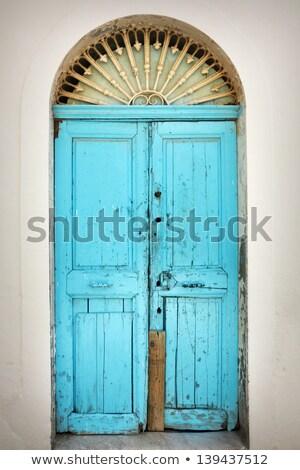 Vecchio porta orientale ornamenti castello pietra Foto d'archivio © zurijeta