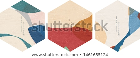 Kártya kör izolált ászok terv klub Stock fotó © DzoniBeCool