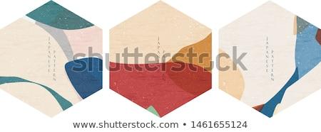 Card circle stock photo © DzoniBeCool