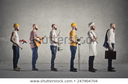 Men with different works Stock photo © bluering