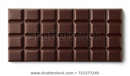 Dark chocolate bars Stock photo © Digifoodstock