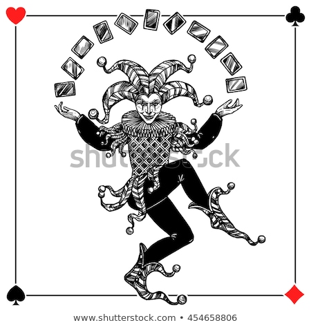 King of hearts in sleeve Stock photo © LightFieldStudios