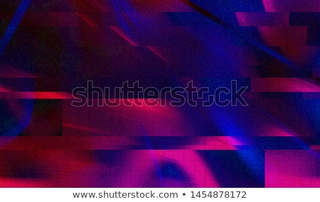 blue abstract glitch background design Stock photo © SArts