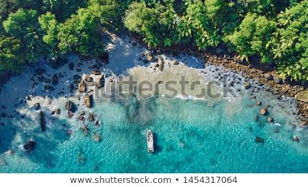 silhouette island stock photo © alexeys