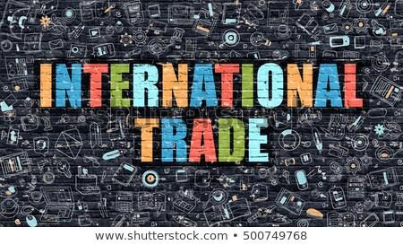 import · międzynarodowych · światowy · globalny · handlu - zdjęcia stock © tashatuvango