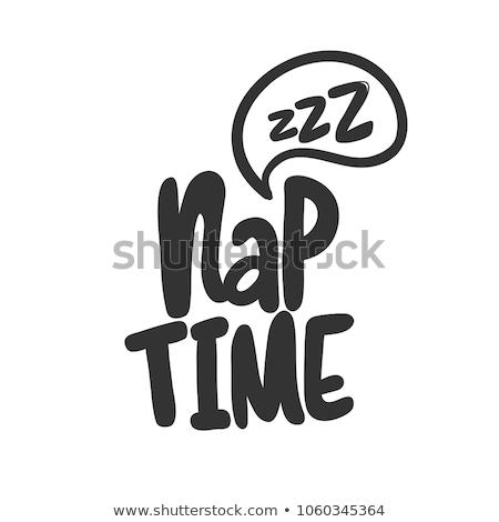 Nap time Stock photo © Zela