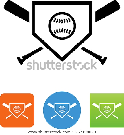 Home Plate Stock photo © ca2hill