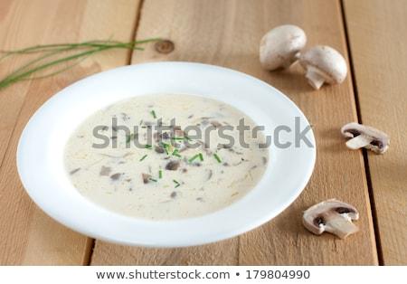 prato · cremoso · castanha · cogumelo · cogumelo - foto stock © alex9500