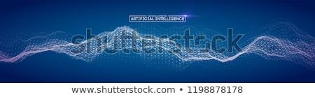Augmented intelligence concept vector illustration. Stock photo © RAStudio