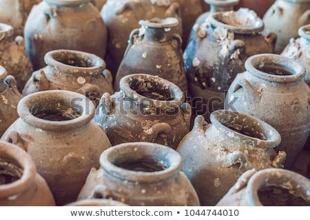 древних традиционный ракушки продовольствие стороны фон Сток-фото © galitskaya