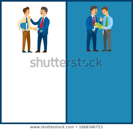 Working Order and Work Task, Office Worker Duties Stock photo © robuart