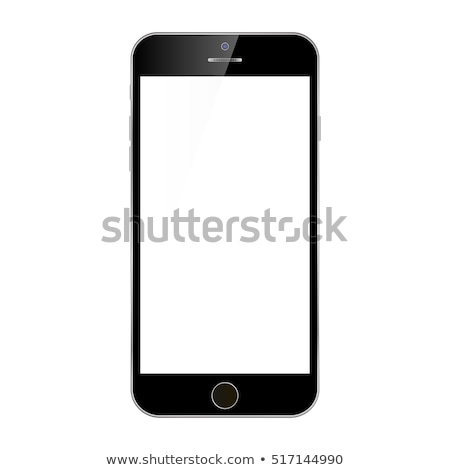 smartphone cellular call technology color vector stock photo © pikepicture