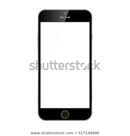 смартфон сотовых вызова технологий цвета вектора Сток-фото © pikepicture