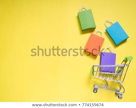 Supermarkt elektronica black friday verkoop verkoop elektronische Stockfoto © robuart