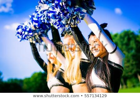 Rij school team permanente mode Stockfoto © pressmaster
