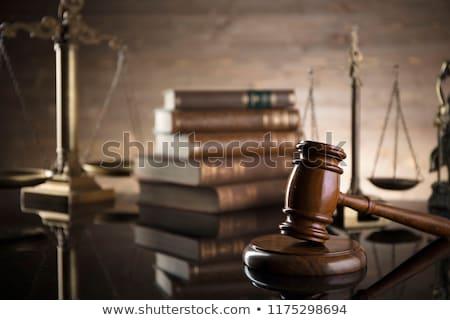 Prawnik sala sądowa stałego działalności biuro Zdjęcia stock © AndreyPopov