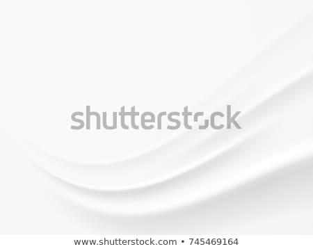 Streszczenie biały czyste minimalny falisty projektu Zdjęcia stock © SArts