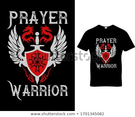 Prayer Warrior Stock photo © SimpleFoto
