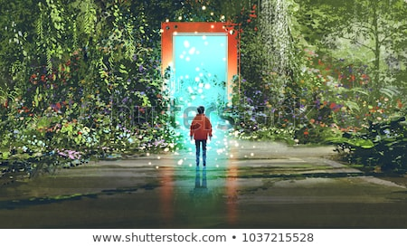 Magic Garden Entrance stock photo © Alvinge
