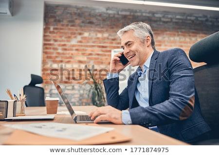 Architect on telephone call Stock photo © photography33