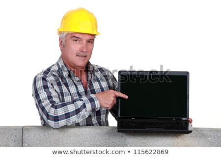 ноутбука · изолированный · бизнеса · компьютер - Сток-фото © photography33