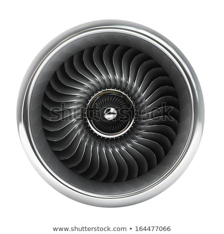 elöl · kilátás · repülőgép · illusztráció · fehér · üzlet - stock fotó © m_pavlov