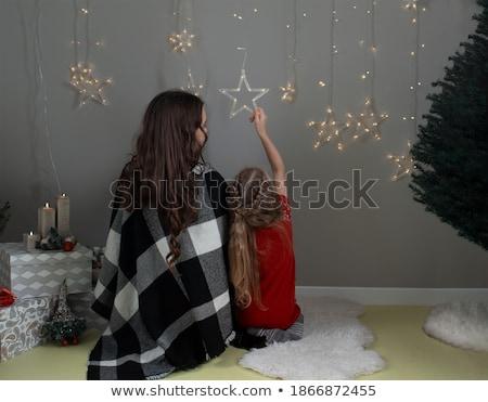 家族 · 雪 · 冬 · 肖像 · 幸せな家族 · 一緒に - ストックフォト © paha_l