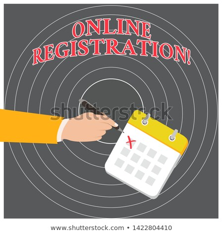 join button in red showing subscription and registration stock photo © stuartmiles