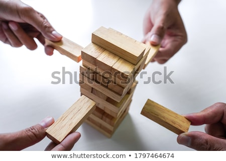Breaking the balance stock photo © cnapsys