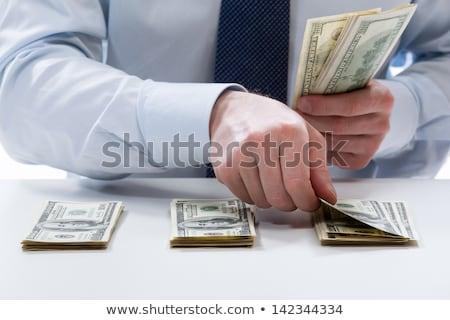 банкир · женщину · из · доллара · деньги - Сток-фото © photography33