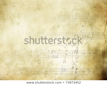 Music background with piano keys in grunge style. Music concept. Stock photo © inxti