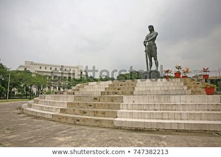 Estátua sentinela liberdade parque metro Manila Foto stock © joyr