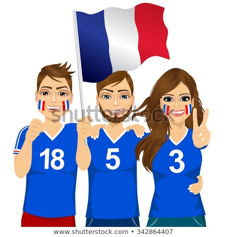 three french supporters stock photo © photography33
