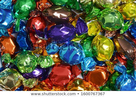 assorted chocolates in wrappers stock photo © sumners