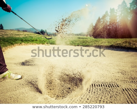 Sand Trap Stock photo © cboswell
