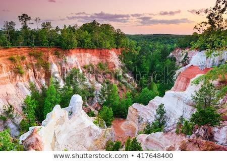 desfiladeiro · parque · céu · sol · verão · azul - foto stock © jaymudaliar